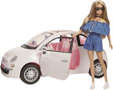 Barbie Fiat 500 con Accessori FVR07