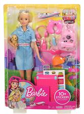 BARBIE - IN VIAGGIO C/TROLLEY FWV25