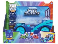 PJ MASKS - VEICOLI SPEED BOOSTER C/PERS.95230 95231 95322 95233