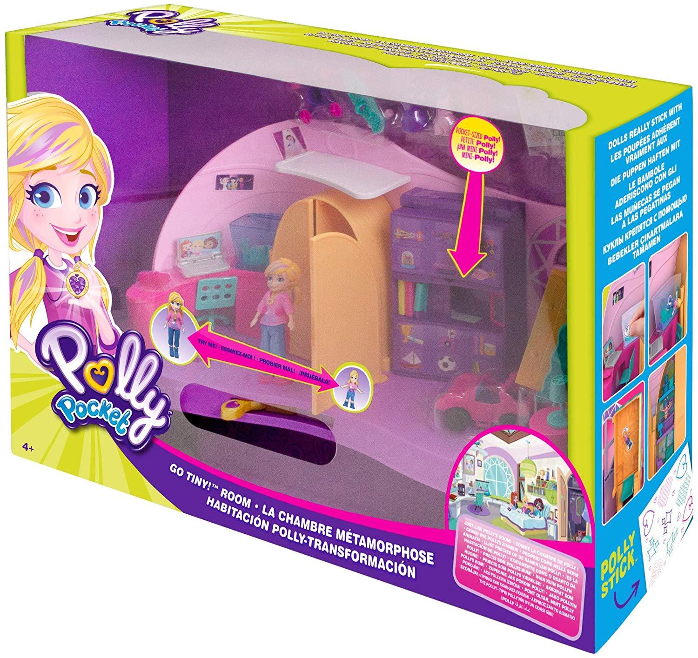 cameretta di Polly  FRY98  Mattel Polly Pocket playset trasformabile