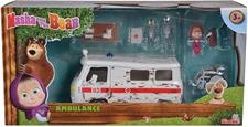 MASHA E ORSO - AMBULANZA PLAYSET 9309863