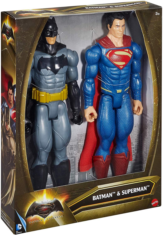 BATMAN BATMAN VS SUPERMEN PERS.30CM SC.2PZ DLN32 ACTION