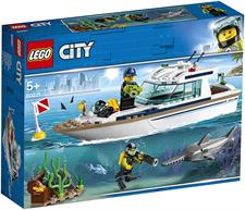 LEGO CITY - YACHT IMMERSIONI 60221
