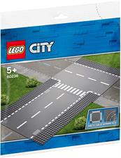 LEGO CITY - RETTILINEO INCROCIO A T 60236