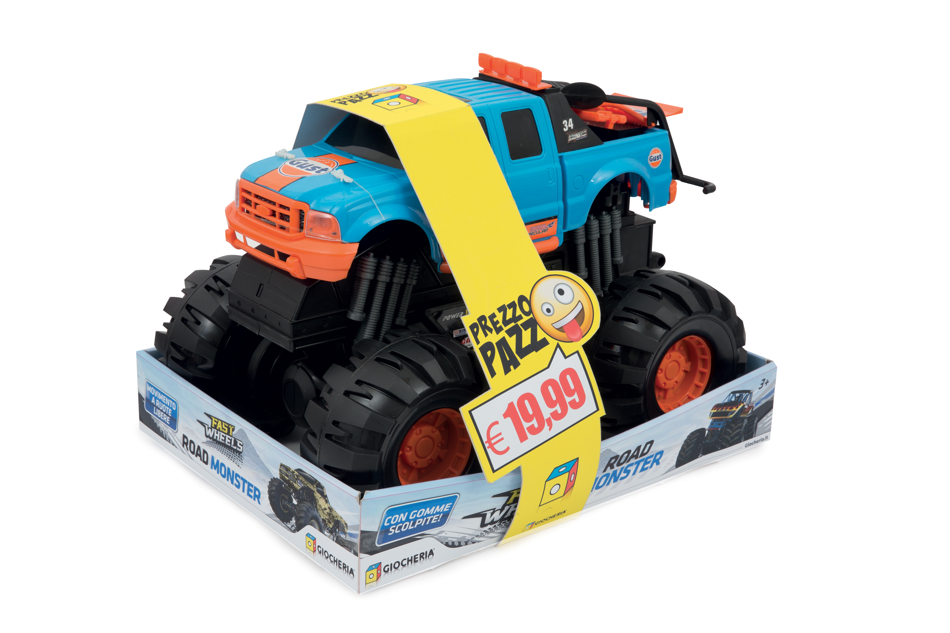 MONSTER TRUCK GIGANTE GGI190100