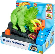 HOT WHEELS - PLAYSET ATTACCO TRICERATOPS GBF97