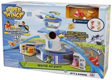 SUPER WINGS  - PLAYSET AEREOPORTO C/PERS. UPW06000