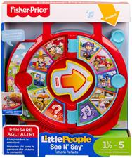 FISHER PRICE - LITTLE PEOPLE PARLANTE ITALIA FXJ70