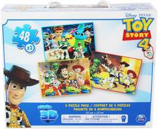 TOY STORY 4 - PUZZLE 3 MODELLI 6052966