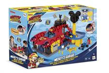 Mickey Mouse - Garage Playset con Personaggio
