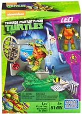 Turtles - Mega Block Leo Pizza Fury 51pz DMX33