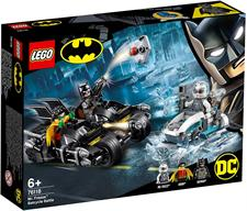 Lego Batman - Battaglia sul Bat Ciclo con Mr. Freeze 76118