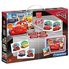 Cars - Edukit 4in1 13710