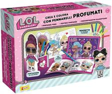 Lol Surprise - Crea e Colora con Pennarelli Profumati