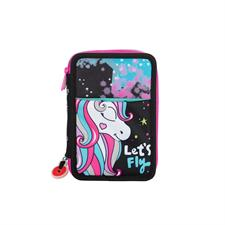 Astuccio - Go Pop Triplo Unicorn