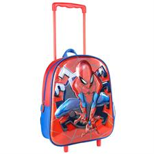 Zaino Asilo Trolley - Spiderman 3D Metal