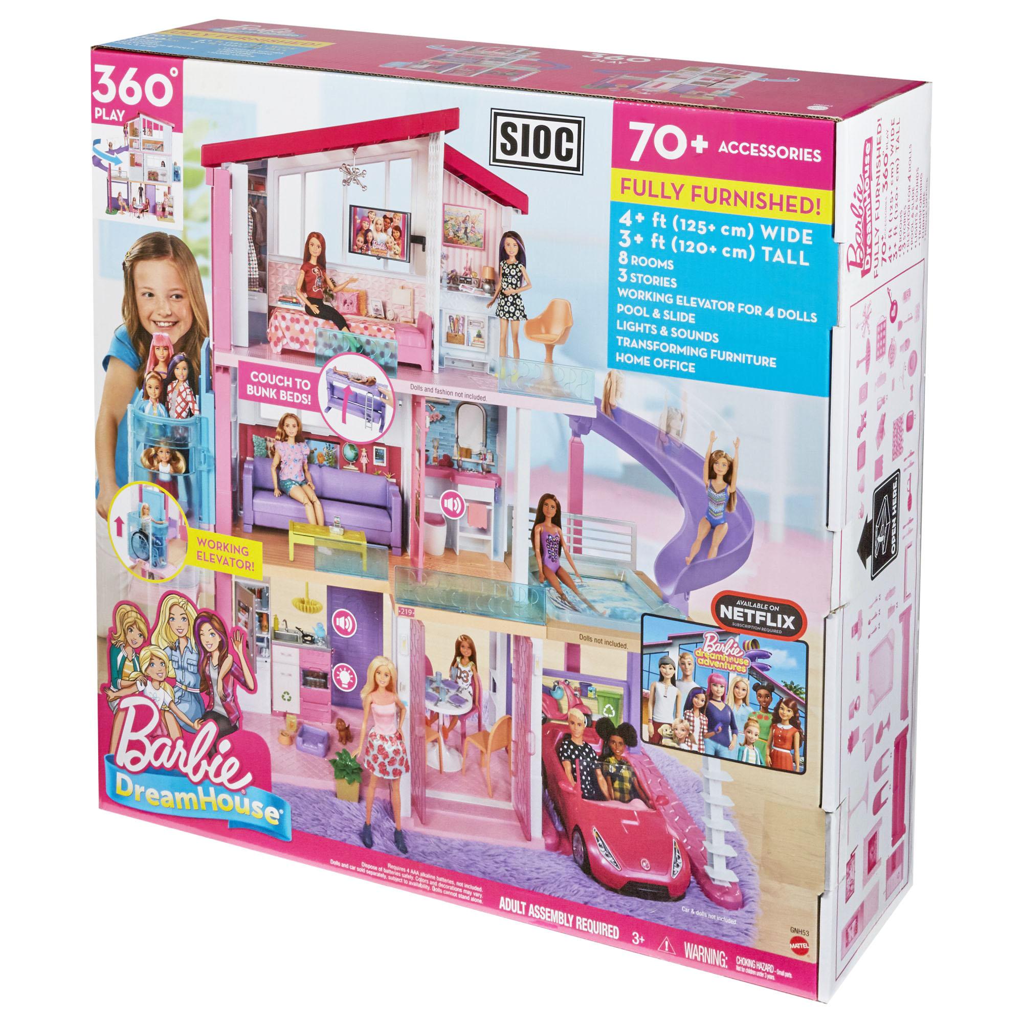 Barbie Casa Dei Sogni con Ascensore GNH53 - FASHION DOLLS ...