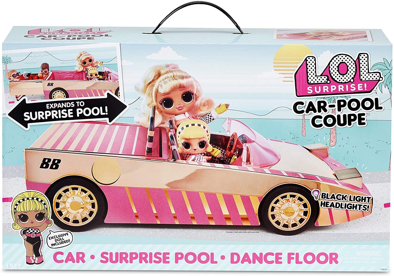 """auto con esclusivo /""""toy doll L.O.L sorpresa"""