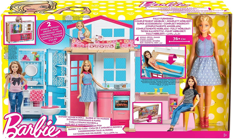 Barbie Casa Componibile Con Bambola Dvv48 Fashion Dolls E Playset Il Capriccio Giocattoli Store