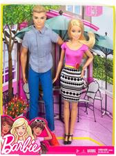 Barbie e Ken Coppia con Accessori DLH76