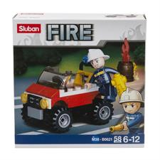 Sluban Jeep Fire 190001