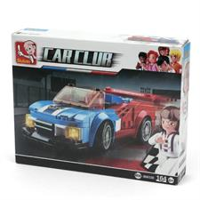 Sluban Blue/Red Car Carclub 190012