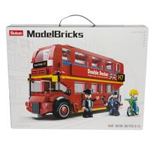 Sluban London Bus Model Bricks 190016