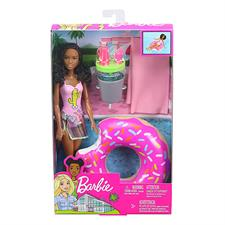 Barbie Festa in Piscina Playset GHT19