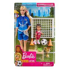 Barbie Football con Shelly Playset GLM53