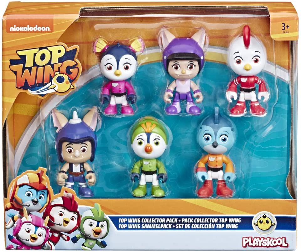 Top Wing Pack 6 Personaggi Collection E5280