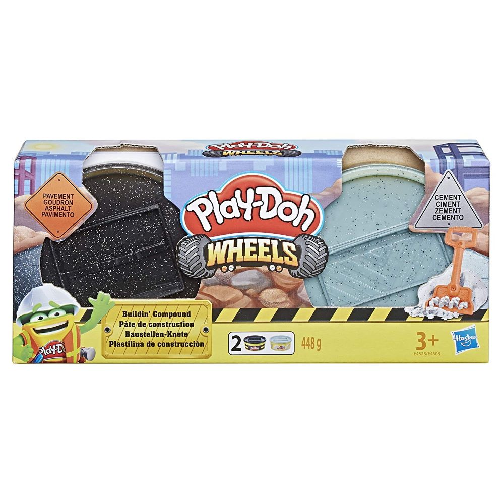 Playdoh Wheels Builder 2Vasetti E4508