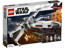 Lego Star Wars X-Wing Fighter di Luke Skywalker 75301