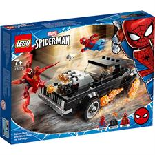 Lego Spiderman e Ghost Rider vs. Carnage 76173