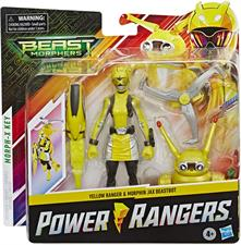 Power Rangers Beast Yellow 15Cm con Accessori E8087