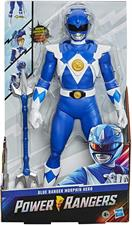 Power Rangers Blue con Maschera Convertibile 30cm E8648